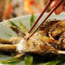 【夏の旬味】高津川の鮎の塩焼き