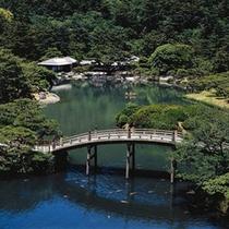 栗林公園(りつりんこうえん)、偃月橋