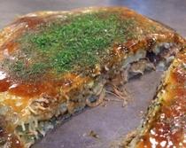 お好み焼き(肉玉そば) 広島のソウルフード 広島来たら食べとかにゃいけんじゃろー