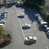 無料駐車場(屋上より撮影)