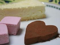 バレンタインの生チョコ