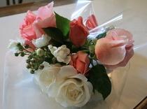 毎年6/15〜7/5小さなバラの花束プレゼント