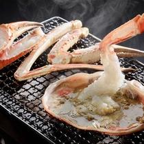福井の冬の味覚≪越前蟹≫を焼きで!香ばしい甲羅身をからめてお召し上がりください!