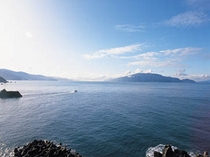 美しい敦賀湾の絶景!全客室から海が一望
