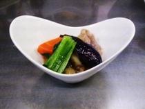 会津地鶏の煮物