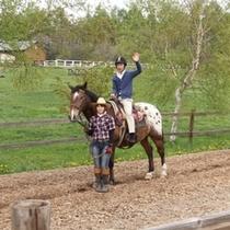 乗馬体験 滝沢牧場