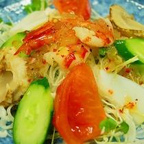 【ご夕食一例】海鮮サラダ