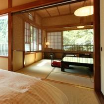 【川側8畳和室+ベッドルーム】右2