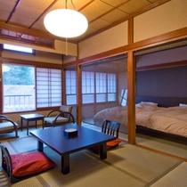 【和室7.5畳&ベッドルーム】