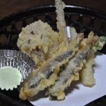 天ぷら川魚