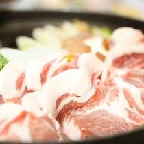 しし鍋料理例