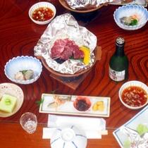 *【夕食一例】静岡の素材をふんだんに使用したお料理をご用意致します。