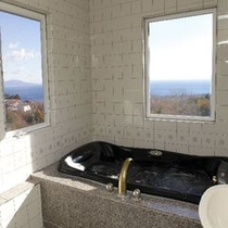2F特別室ローズマリーのジャグジー風呂