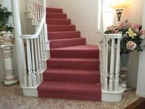 リニューアルしたて、サントロペのお姫さま階段