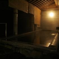 ひさ家自慢の温泉露天風呂