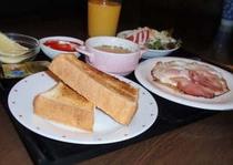 朝食写真(洋食)
