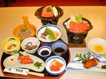 「すき焼きプラン」夕食一例