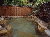 裏山の見える露天風呂(女性用・無料)