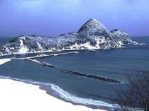 〜竹野浜の雪景色〜