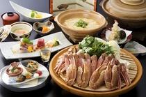 冬は定番かにすき鍋でぽっかぽか♪〆は絶品かに雑炊を堪能♪ 『かにすき会席』