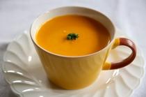 ある日のスープ『かぼちゃのポタージュ』