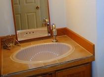 バス・トイレなしのお部屋には洗面台がついています