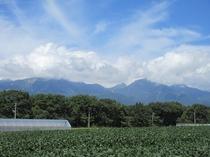 近隣からの八ヶ岳連峰