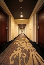 リニューアル 8階客室通路