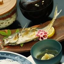 旬魚の焼物