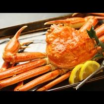 一口で蟹の旨味が口いっぱいに広がる 茹でが二