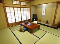 昭和の和室(D)(客室一例) 【雪】