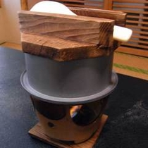 *【釜飯】山の味覚、山菜をギュッと釜の中に閉じ込めたホックホクの逸品。お席で炊き上げます♪