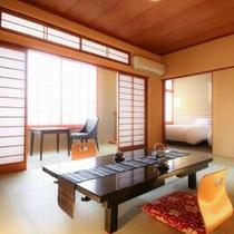◆山ざくら亭*和洋室タイプ*和モダン10畳+2ベッド ※イメージ