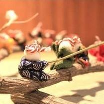 ◆手作りの人形