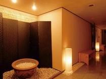露天風呂廊下