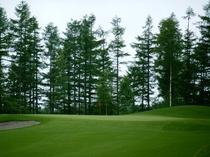 上士幌ゴルフ場。