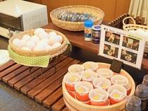 【朝食ビュッフェ】白米に嬉しい納豆や卵、のりもご自由にどうぞ♪