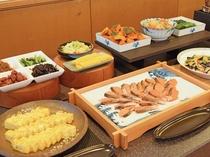 【朝食ビュッフェ】和のおかずは思わずご飯がすすみます♪