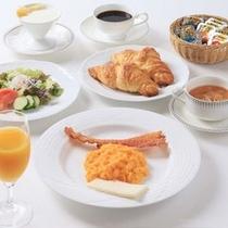 アメリカンブレックファーストで優雅な朝食タイムをどうぞ♪