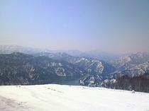 奥只見丸山スキー場 春の山頂