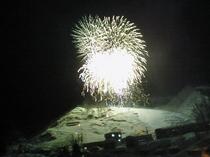 花火 大湯温泉スキーカーニバル