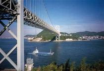 【周辺観光】みもすそ川 関門橋