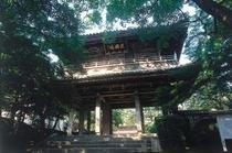 【周辺観光】長府エリア 国宝 功山寺