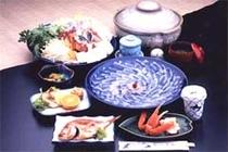 お食事例1(フグコース)