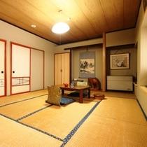 和室10畳のお部屋になります