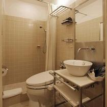 本館シングルシャワーバスルーム