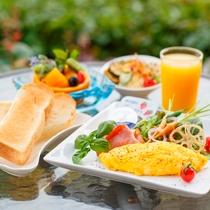 朝食の洋食(一例)