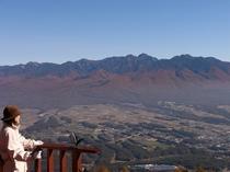 パノラマ展望台からの八ヶ岳
