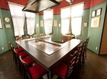 鉄板焼個室全5室を新設しました