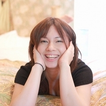 ■女性笑顔